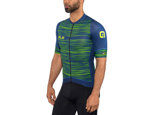 Alé Cycling Graphics PRR End SS Jersey Herren blue-flou green